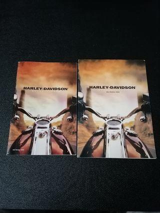 catálogo Harley Davidson