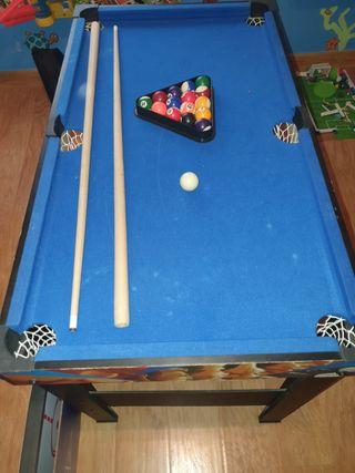 billar y mesa de juegos