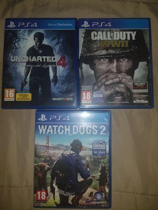 Juegos PS4, y refrigerador