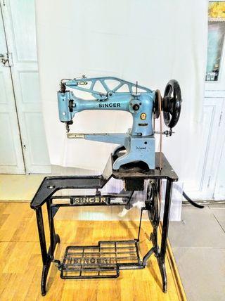 Maquina de coser de zapatero Singer