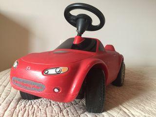 """Coche Mazda para bebé """"correpasillos"""""""