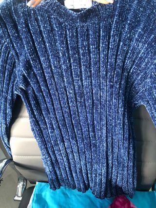Jersey azul oscuro