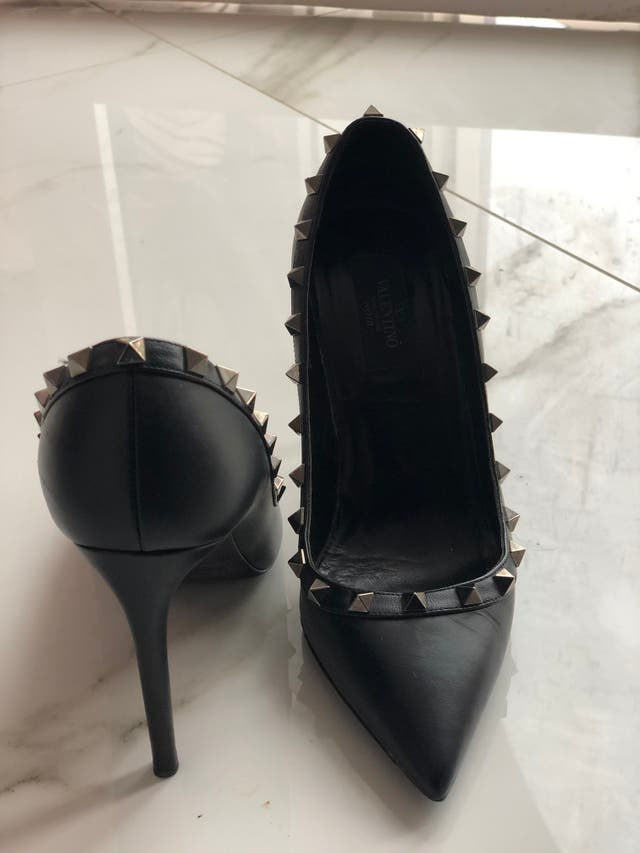 Black Valentino shoes
