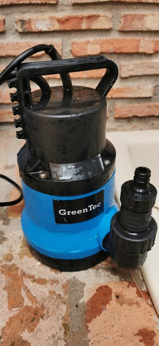 BOMBA SUMERGIBLE GREEN TEC