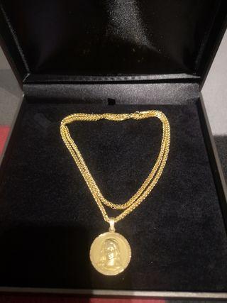 cadena de oro 18k Nueva a Estrenar