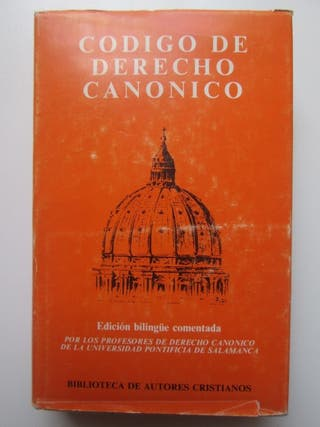 Código de derecho canónico. Edición bilingüe