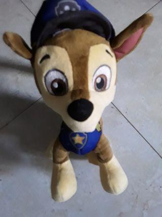 Peluche Chase policía patrulla canina