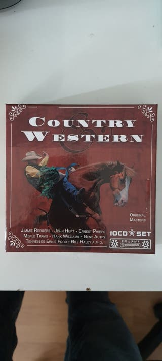 COUNTRY & WESTERN SET 10 DISCOS