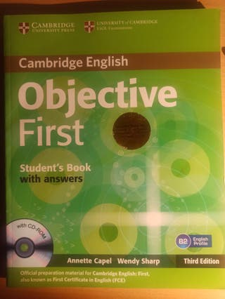 Libro inglés objective first