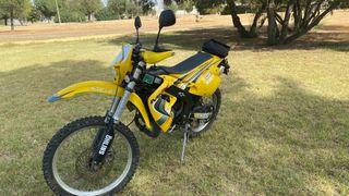 Rieju MRX 50 amarilla