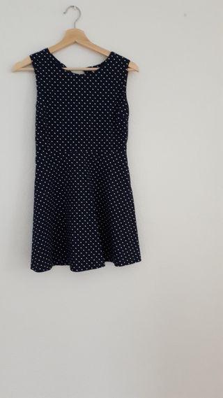 Vestido talla 34/36 de lunares