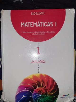 libro matemáticas anaya
