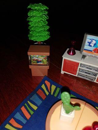 salón playmobil antiguo