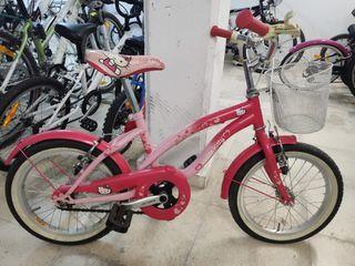Bicicleta para niñas hasta 6-7 años