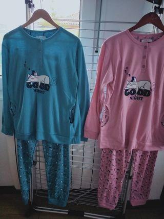 Batas y Pijamas de señora