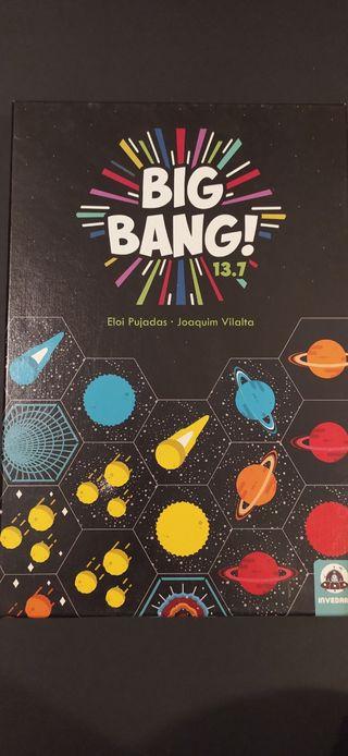 Big Bang 13.7. Juego de mesa.