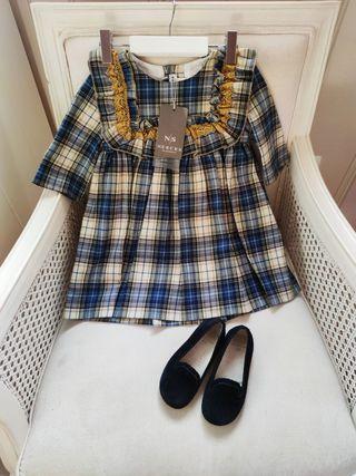 Vestido Nueces 3 años