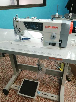 máquina de coser nueva industrial