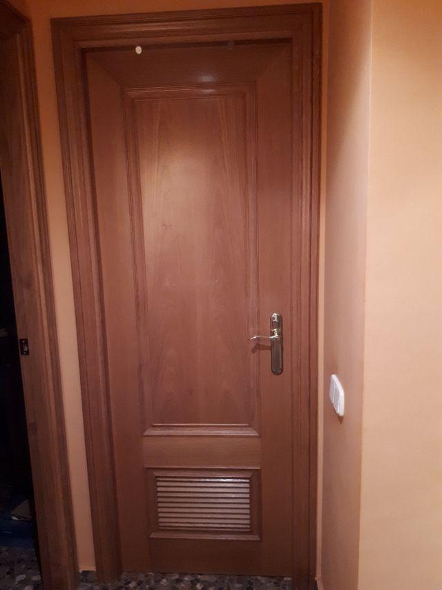 Puertas comedor, cocina, baños y habitaciones