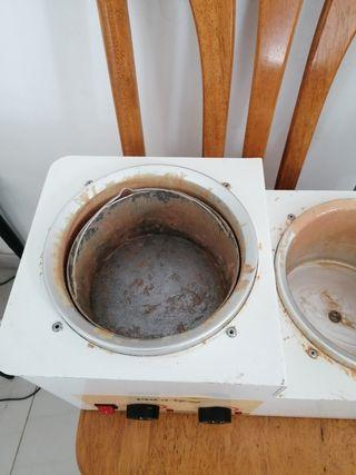 Maquina fundidor cera caliente