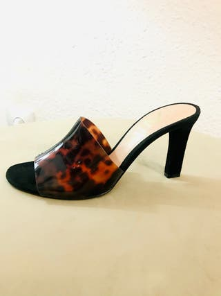 Sandalias mujer estilosas de vinilo