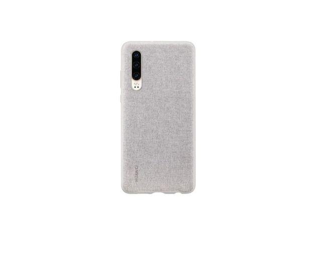 Funda Huawei PU Elegant Grey para P30