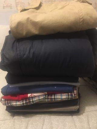Lote de ropa niño talla 13-14