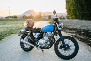 Café Racer Moto Única