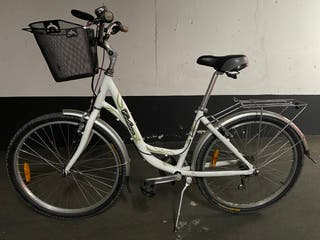 Bicicleta paseo Coluer Costa Dorada Classic Blanca