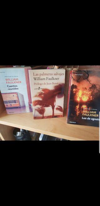 Libros de Faulkner nuevos