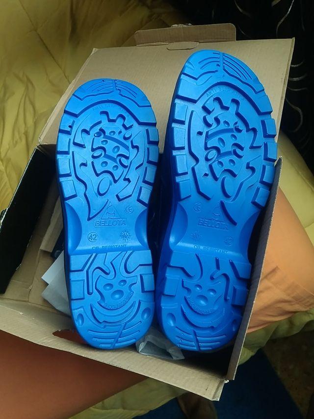 zapatos de seguridad 42 nuevo