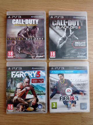 Juegos varios PS3 PEGI18