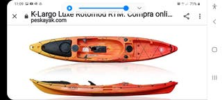a,kayak de pesca rotomod muy nuevo