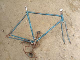 bicicleta antigua cuadro bh paseo 700
