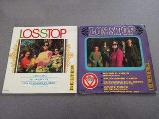 Lote 2 Discos Los Stop