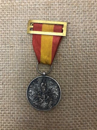 Medalla aguinaldo virgen del Pilar WWII