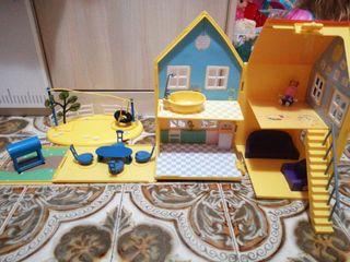 casa y parque peppa pig