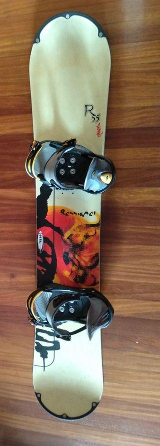 Tabla + botas snowboard Rossignol