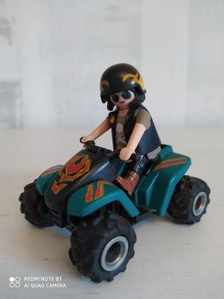 Quad 4x4 con piloto Playmobil