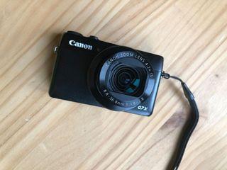 Canon G7X Cámara de fotos compacta.