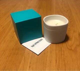 Vela aromática café Absolu de Nespresso