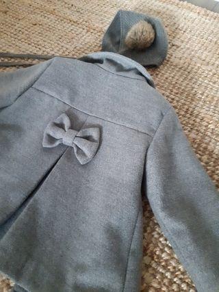 Conjunto abrigo y capota