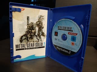Metal Gear Solid 2 Substance PS2 - Completo PalEs