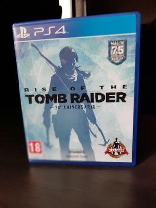 Rise of The Tomb Raider - 20 Aniversario - PS4