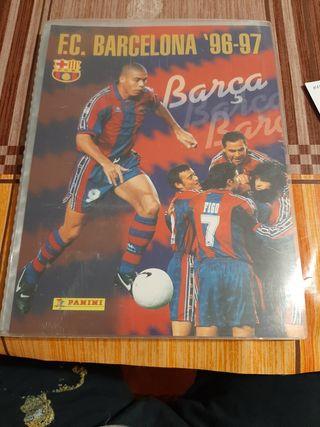 Coleccion cromos Barsa 96/97 completa