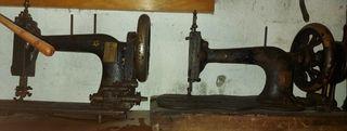 Máquinas de coser antiguas.
