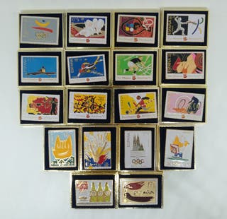 Pins sellos Olimpiadas Barcelona 92