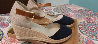Esparto zapatos