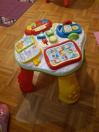 mesa aprendisage infantil