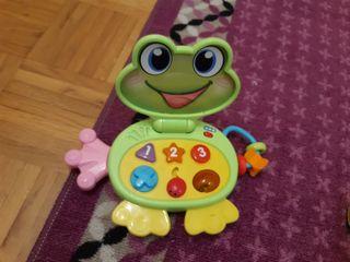 juguete infantil ranita
